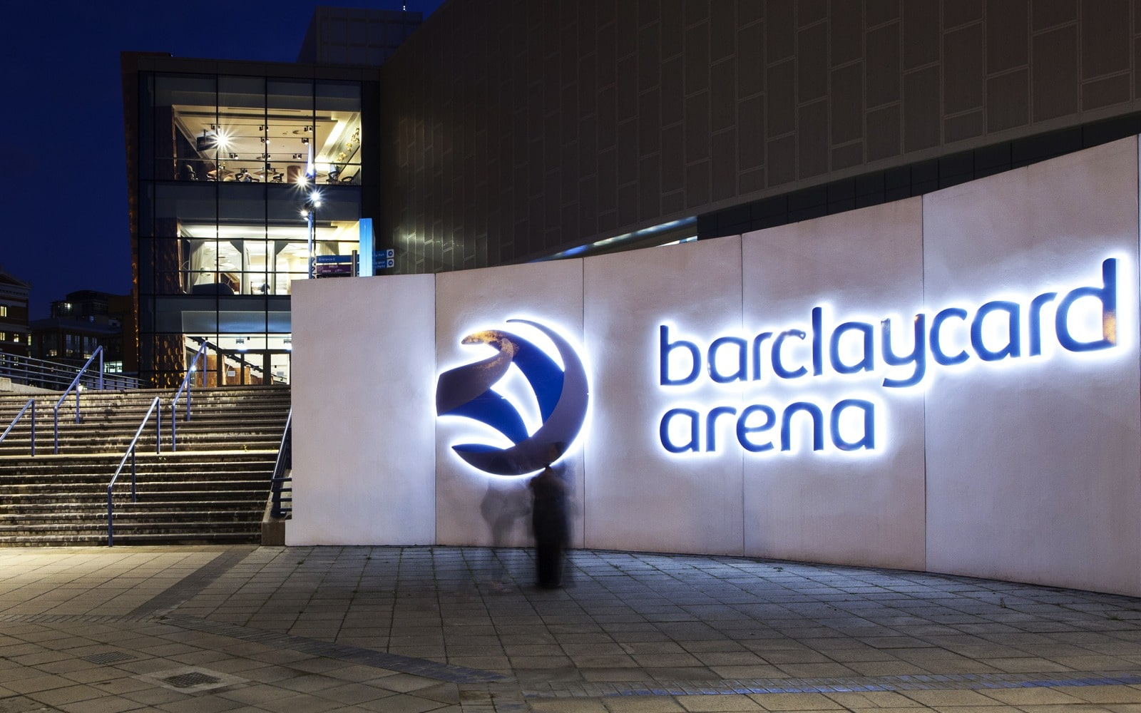 commercial lighting design: Barclaycard Arena