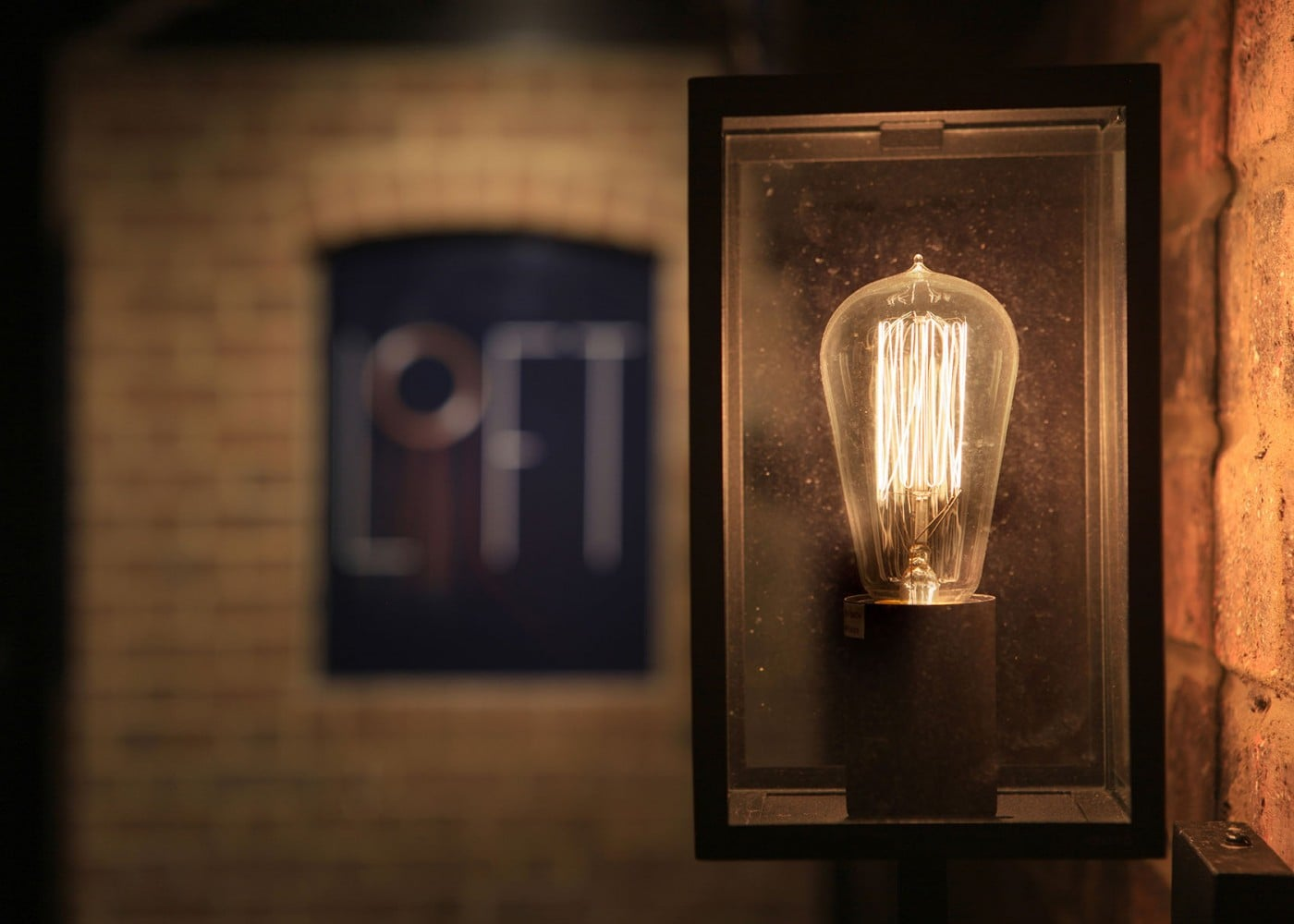 restaurant lighting design: Loft light design