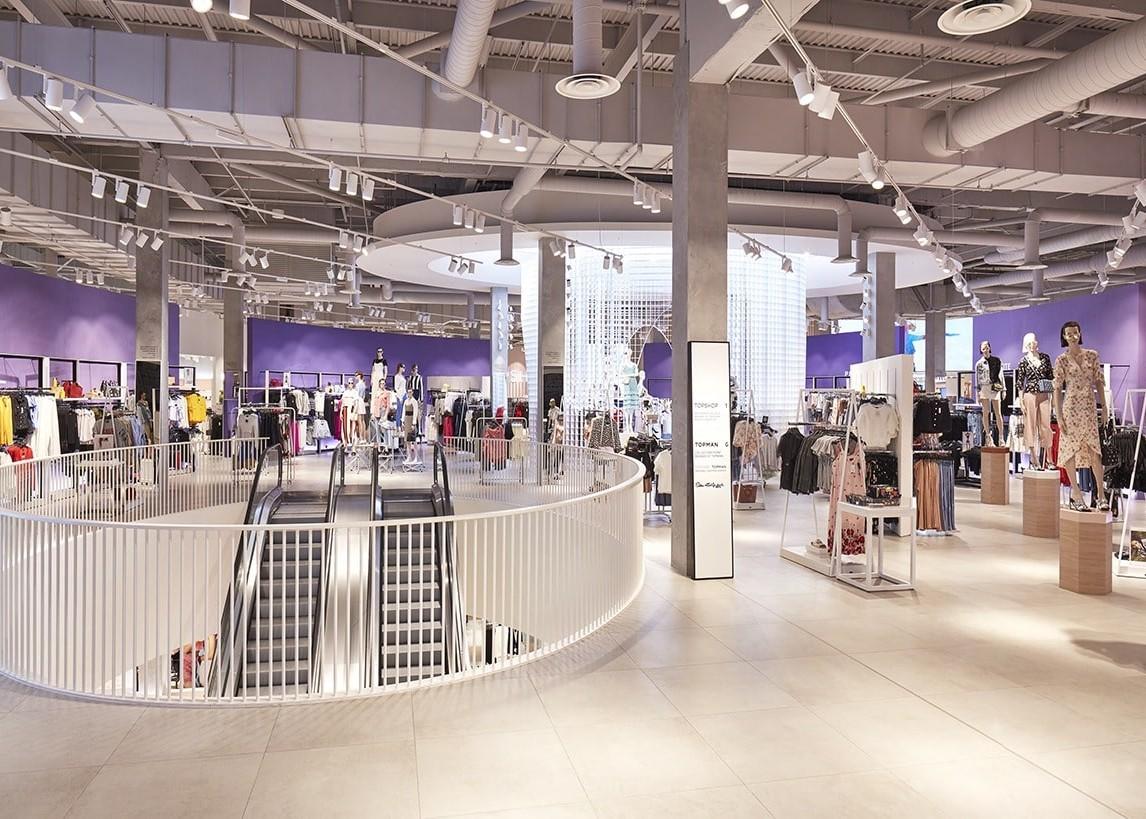 retail lighting design store interior