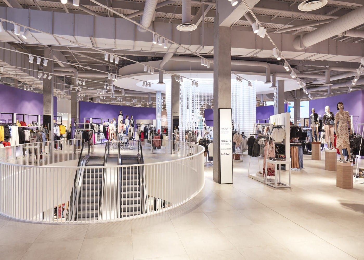 retail lighting design store interior