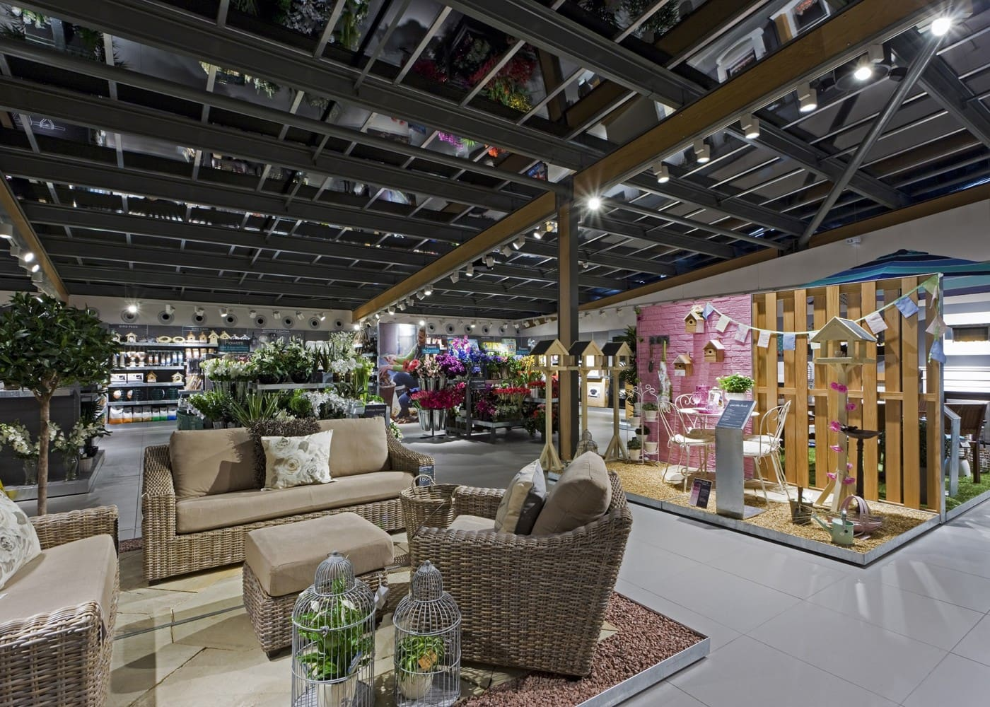 retail lighting design: Next home department