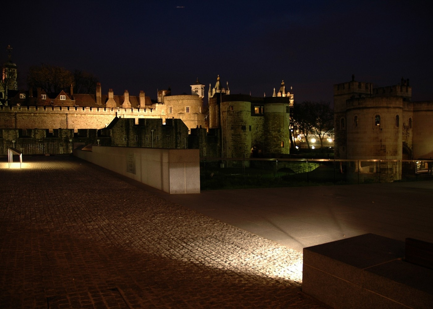 exhibition lighting design: castle