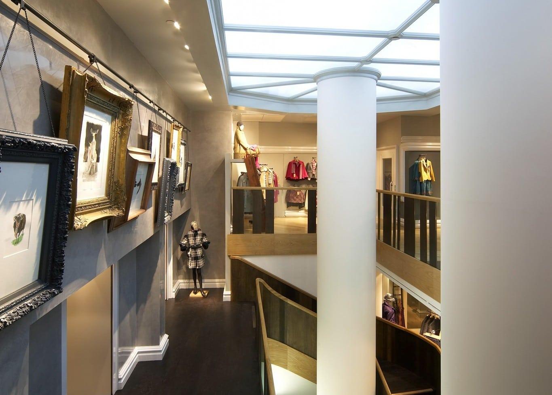 retail lighting design: Hobbs Covent Garden