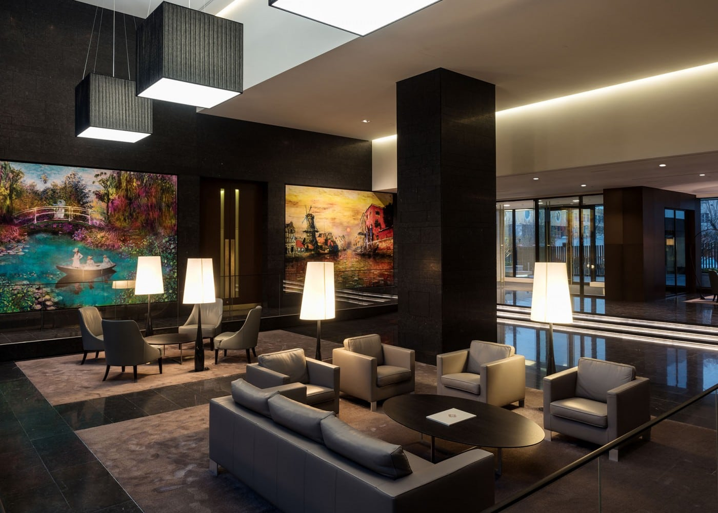 hospitality lighting design: interior