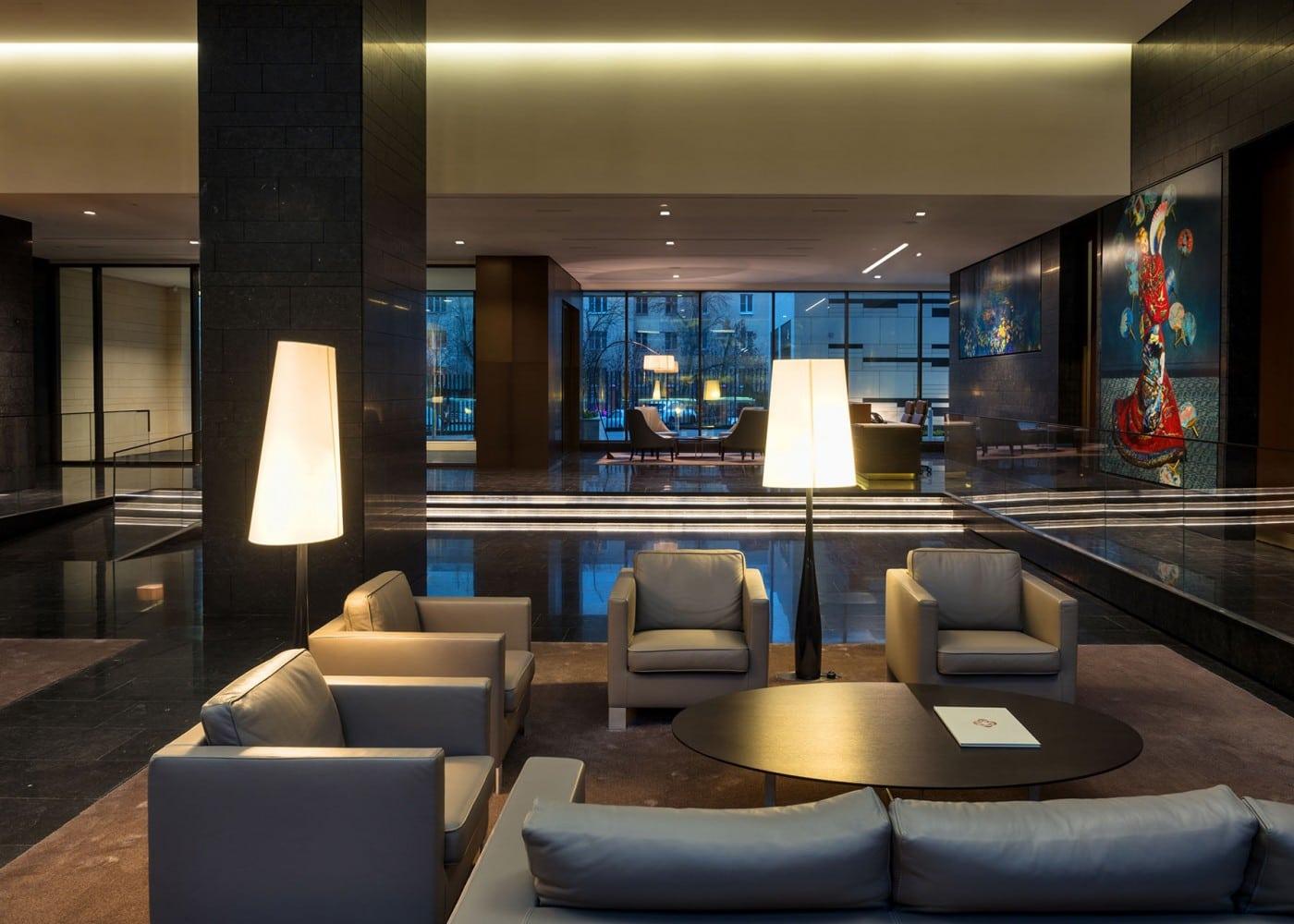 hospitality lighting design: interior