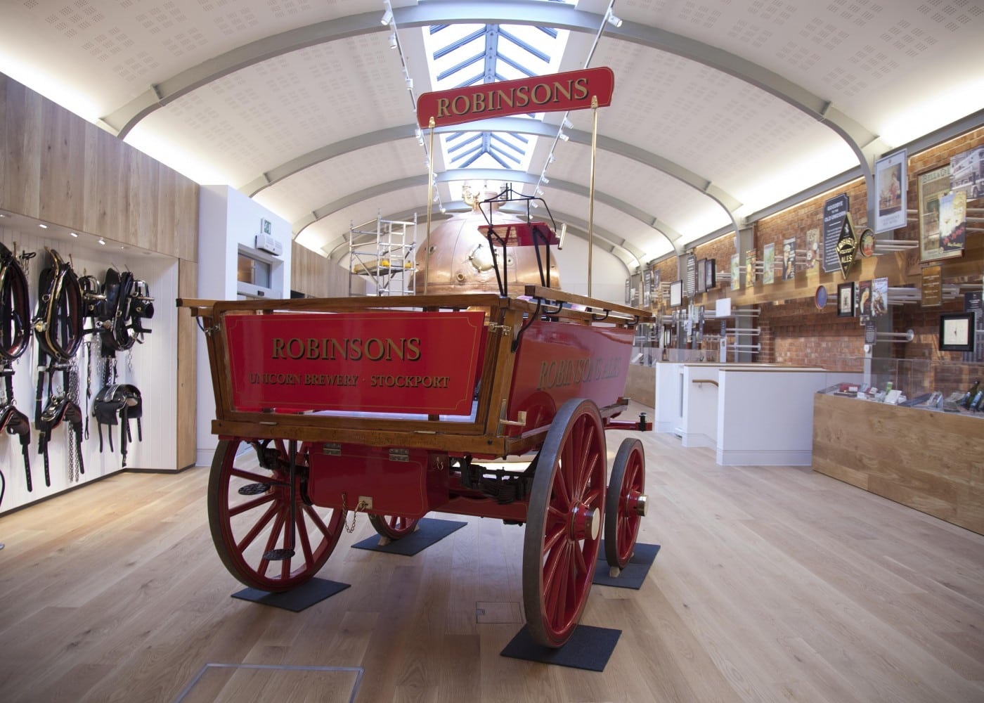 museum lighting design: carriage