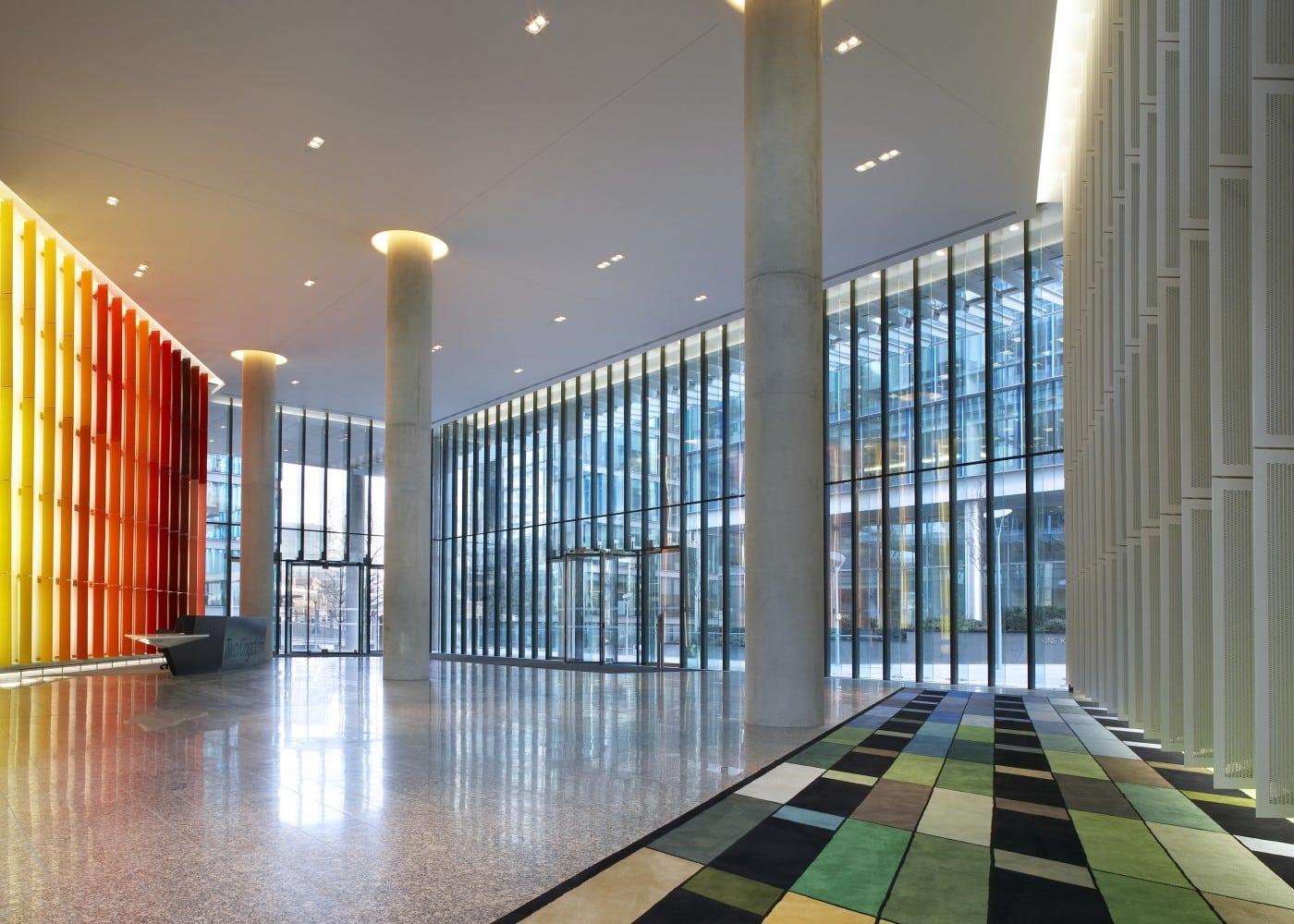 Stylish architectural lighting design for Kingdom Street location