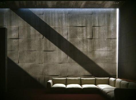 Architectural lighting at Koshino House - Tadao Ando