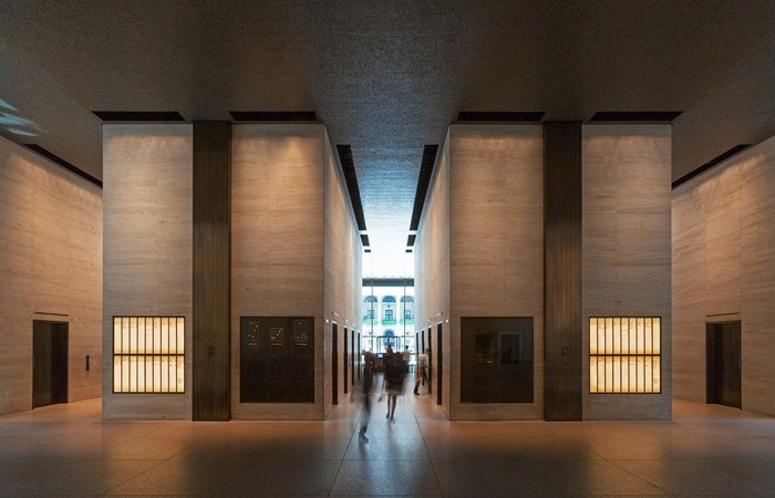 Architectural Lighting at Seagram Building - Mise Van Der Rohe