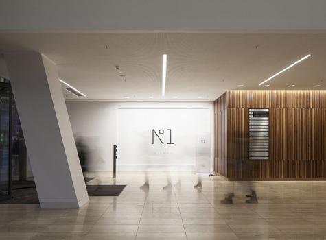 One Spinningfields interior lighting